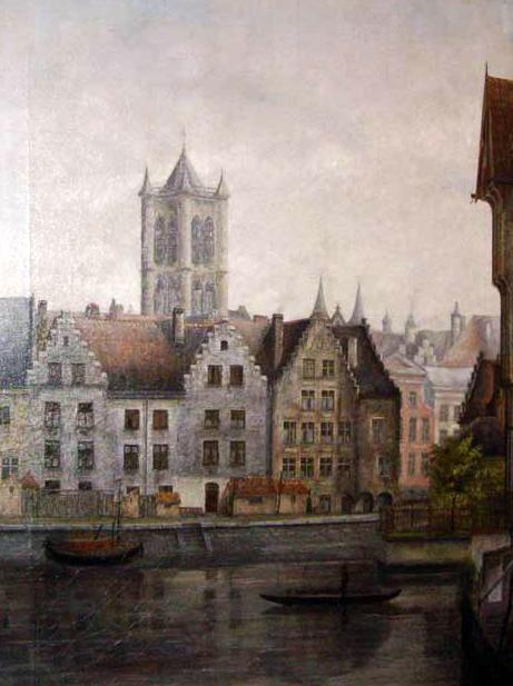 zicht op Gent